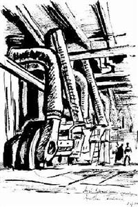 entwurf für eine fabrikhalle by vladimir tatlin