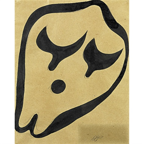 abstract form ii by hans arp