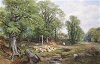 a rest on the drive by frederick william hulme