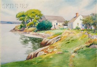 shoreside cottage by henry w. rice