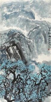 山光树色 by zhou shaohua