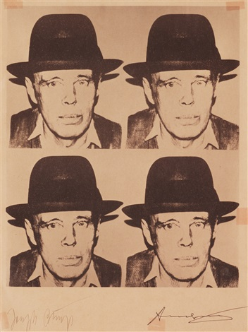josef beuys by andy warhol