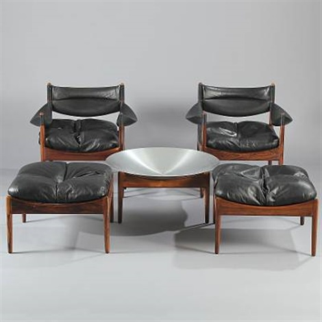 modus chairs ottomans and tables set of 13 by kristian solmer vedel