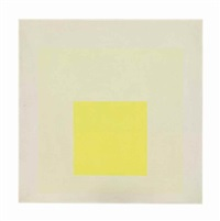 study for homage to the square: light resonance by josef albers