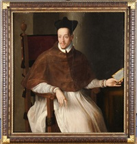 portrait of a cleric by alessandro di cristofano allori