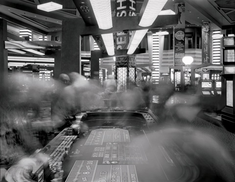 craps table planet hollywood casino las vegas by matthew pillsbury