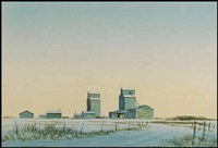 prairie winter by robert newton hurley