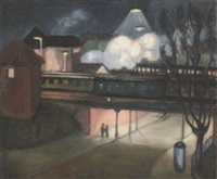 rembertitunnel bei nacht by isa hasse