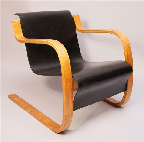 sessel no 3142 by alvar aalto on artnet. Black Bedroom Furniture Sets. Home Design Ideas