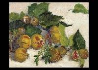 autumn fruits by tokio mabe