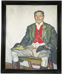 portrait of john walter spurrier by steven spurrier