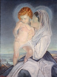 madonna and child by ernesto giuliano armani