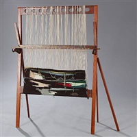 weaving loom by helge vestergaard jensen