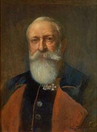 portrait von friedrich i. großherzog von baden by august lemmer