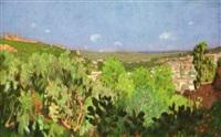 vue panoramique de fèz by emile dorree