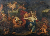 bacchus and ariadne on naxos by antoine coypel