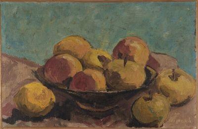 nature morte aux pommes by pierre paul girieud
