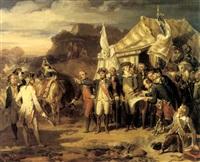 la prise de yorktown le 17 aout 1781 by louis-charles-auguste couder