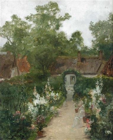 la jardin by georges jeannin