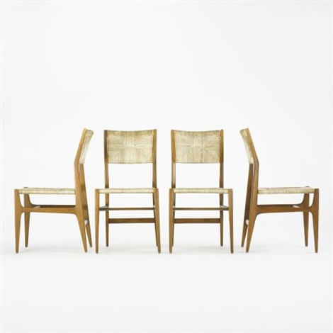 Leggera Chairs (set Of 4) By Gio Ponti
