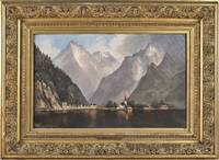 lake lucerne by edwin deakin