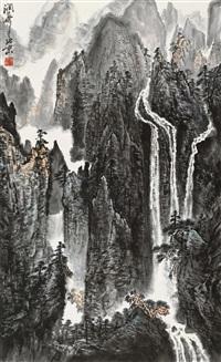 山水 by huang runhua