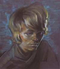 portrait of mandy rice-davies by stephen ward