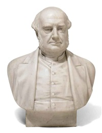 bust of a gentleman by john hutchinson
