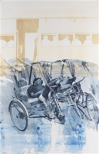 dream cycle (ground rules) by robert rauschenberg
