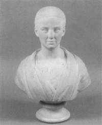 bust of a lady by percival ball
