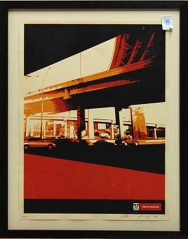 dallas highway by shepard fairey