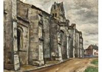 l'église d'etampes by takanori ogisu