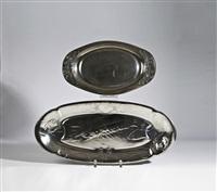 vorlegeplatten und -schalen (set of 7) by j.p. kayser & sohn