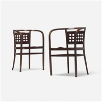 chairs model 721 (pair) by otto wagner