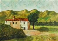 paesaggio umbro by pietro sabbatini
