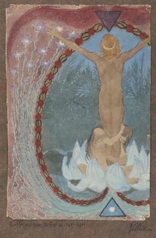sonnenblumen elfen by hugo hoppener fidus