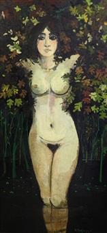 nudo nel fogliame by francesco tabusso