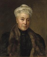 a portrait of adriana hendrina geertruida van ogtrop van der burg by jan pieter veth