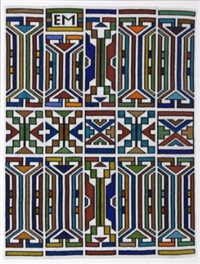 abstract by esther mahlangu