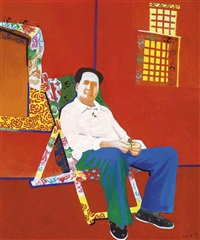mao in a colourful lounge by yu youhan
