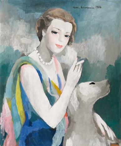 portrait de marcelle dormoy 1895 1976 by marie laurencin