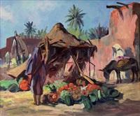 marchand de fruits et de légumes à meknes by edmond vales