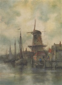 dutch harbour by william j. leenders