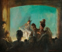 paris theatre by everett shinn