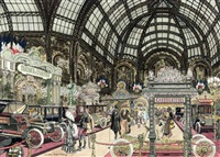 the salon des automobiles, paris by leslie saalburg