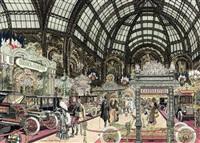 the salon des automobiles, paris by leslie saalburg