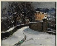 neve alla villa della regina - torino by metello merlo