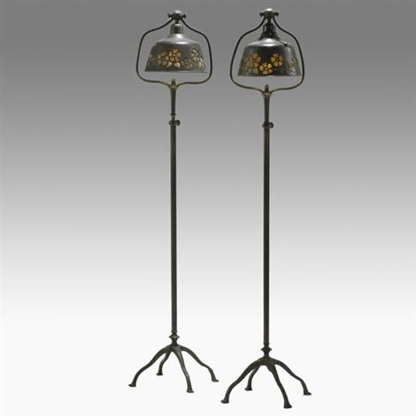 floor lamps pair by lh nash
