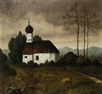 kapelle im lechtal by hans huber-sulzemoos