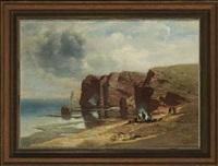 an der bretonischen küste by charles hoguet